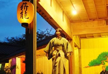 14・天鼓を舞う鈴木貴江さん
