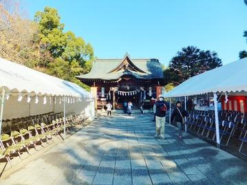 秩父神社・拝殿