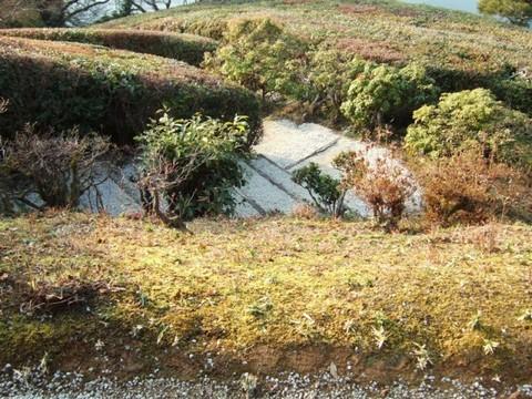 隣雲亭への階段