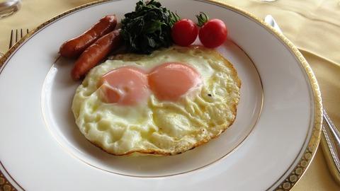 卵焼き overeasy