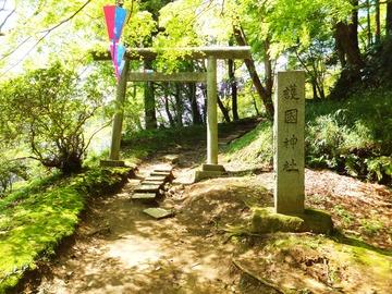 護国神社への参道
