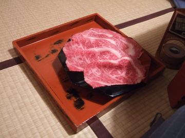 三嶋亭 お肉