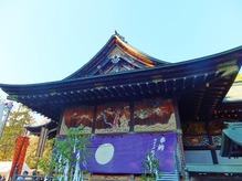 拝殿・東側