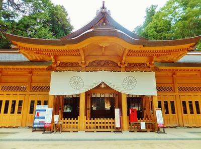 穂高神社・拝殿