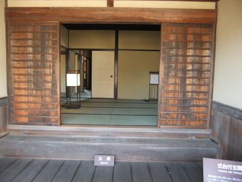 式台付玄関