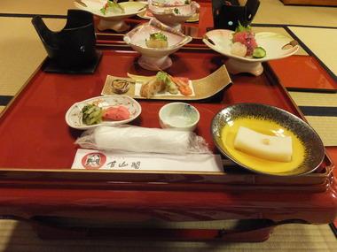 26・高坏膳の夕食