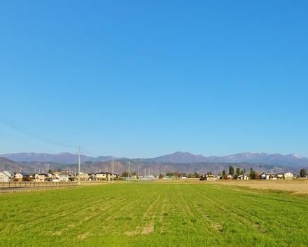 8・早春の安曇野を駆る