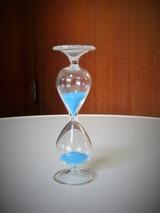 ガラスの砂時計