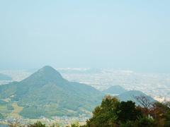 左:筆の山