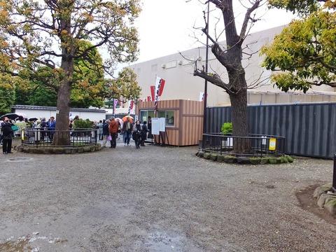 3・平成中村座のテント小屋