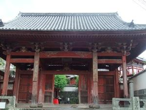長崎・興福禅寺山門