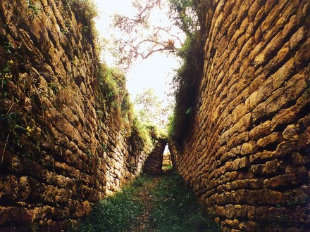 クエラップ要塞への入口