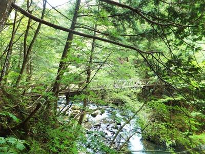 小大野川に架かる夢見橋