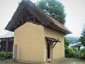 長野県信濃町柏原 小林一茶終焉の古宅