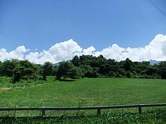 八ヶ岳農園から八ヶ岳を望む
