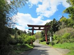 多伎神社一の鳥居