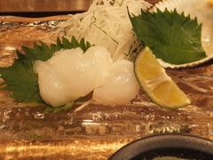 生蛸の刺身