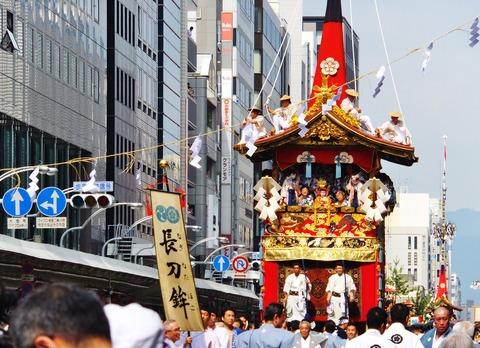 6・祇園祭の象徴でもある長刀鉾