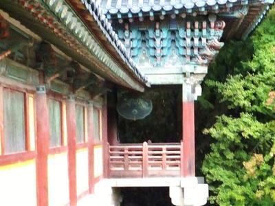 仏国寺・大雄殿の雲板