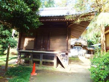 神庫・奥に香取文庫