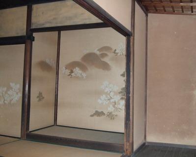 楽只軒吉野山の桜の絵