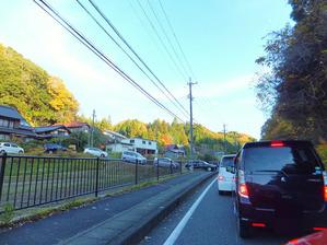 国道135号線大渋滞