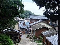 能理刀神社の登り口