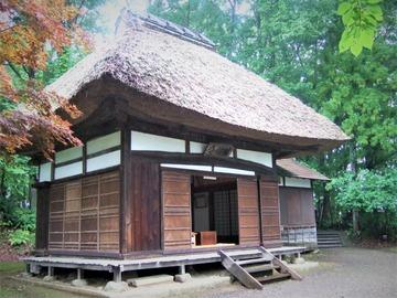 長野県信濃町柏原 俳諧寺