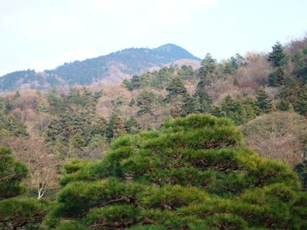 比叡山の頂上が・・・