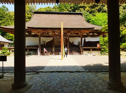 7・国宝・本堂