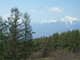 冠雪の南アルプス