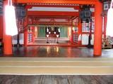 厳島拝殿正面