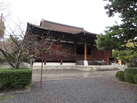 �洛中最古の木造建造物 国宝・本堂