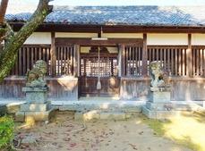 5・稚櫻神社・拝殿