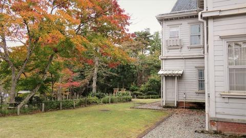31 天鏡閣庭の紅葉