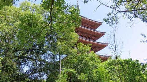5・志度寺五重塔