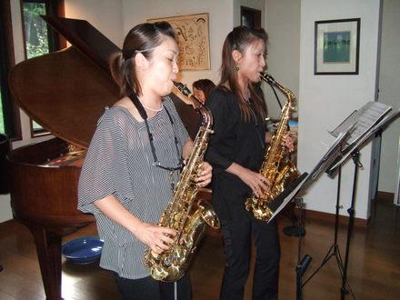 藤澤聡子(左)・中川美和氏
