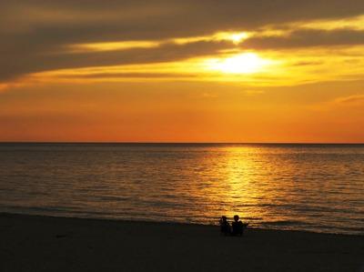 琴ヶ浜の杏と大悟