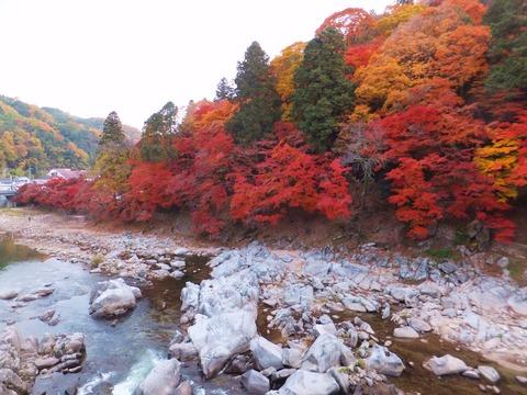 飯盛山、巴川下流を