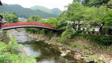 3・室生川上流から太鼓橋を