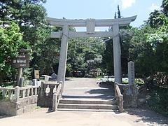海神神社一之鳥居