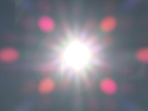 2011年大みそかの太陽