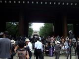 拝殿への入り口