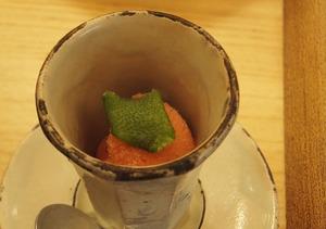 トマトのソルベ