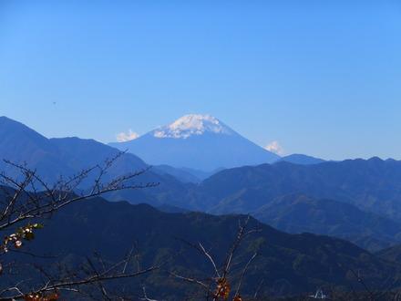 22・富士山のアップ