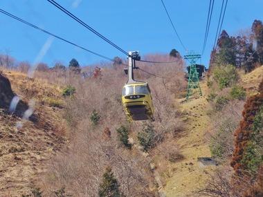 2・宝登山ロープウェイ