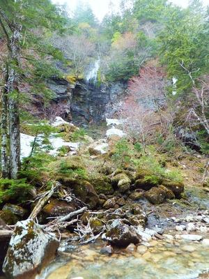 無名沢の滝