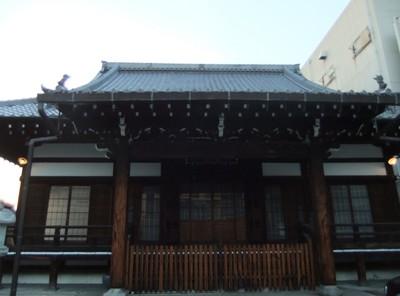 上徳寺本殿
