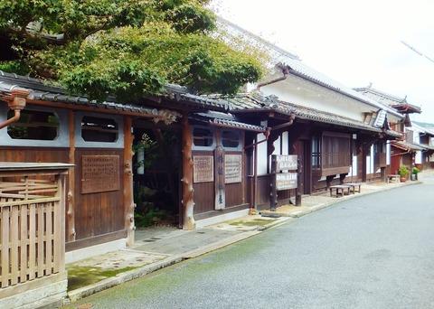 文化元年(1804)建築の松屋旅館
