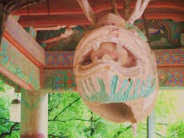 仏国寺・魚板